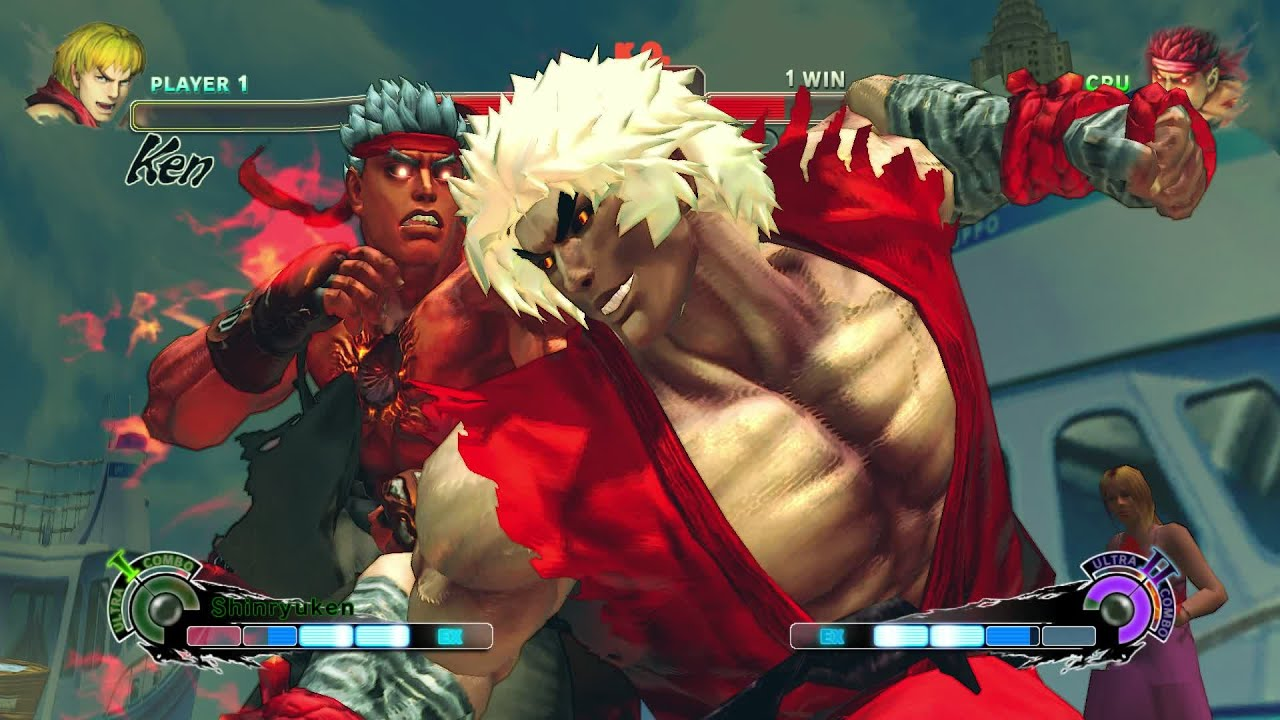 Violent Ken Vs Evil Ryu Usfiv Hardest Difficulty Youtube