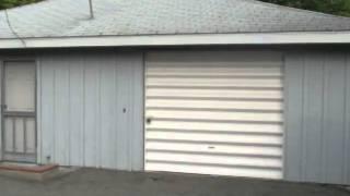 Single Car Aluminum Garage Door - What's This