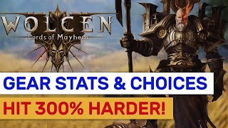 Wolcen   Best Gear Stats For Dmg! Offensive Choices Explained!