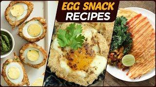 Egg Snack Recipes - Quick &amp Easy Egg Dishes - Non-Veg Snack Recipes