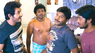Sapthagiri Comedy Scenes - Shakalaka Shankar Searching His Underware (Spoof Of Bavala Sayya Song)