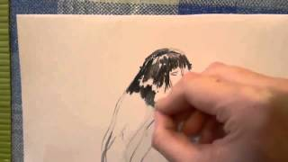 Уроки рисования для детей от 3 лет  Уголь и карандаш