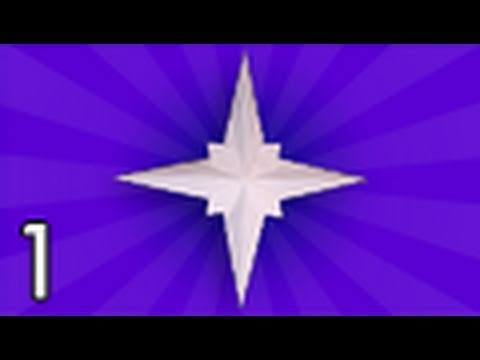 Origami Holiday Star Jared Needle Part 1 Youtube