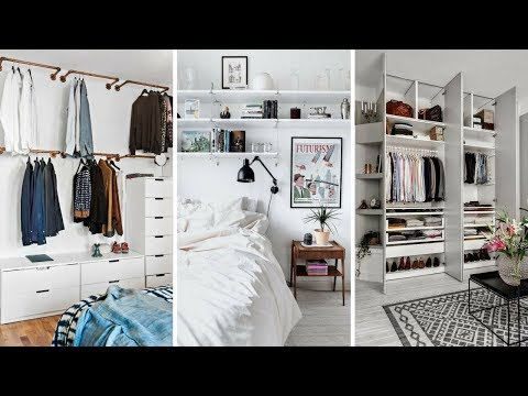 💝 5 Marvelous and Creative Wall Storage Ideas for Small Bedroom 💝