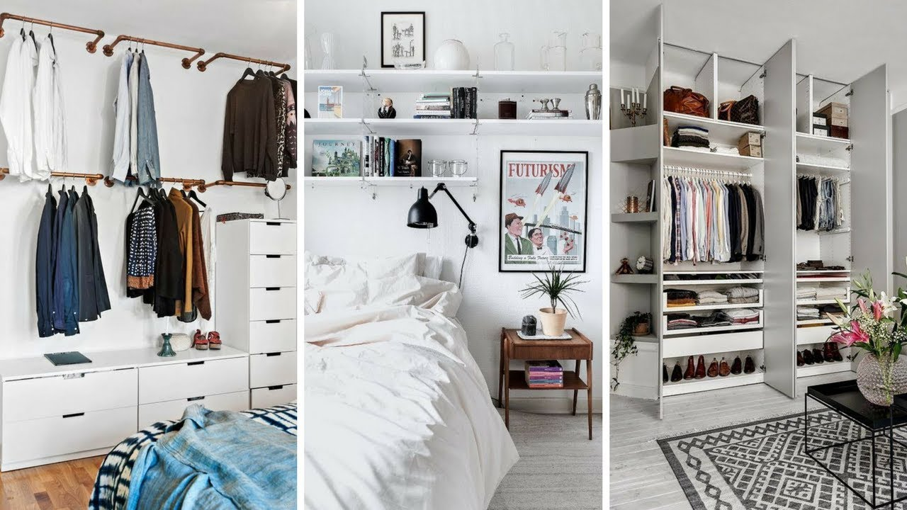 marvelous genius bedroom storage ideas | 5 Marvelous and Creative Wall Storage Ideas for Small ...