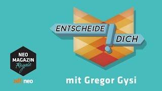 Entscheide dich! mit Gregor Gysi - Politikedition | NEO MAGAZIN ROYALE mit Jan Böhmermann - ZDFneo