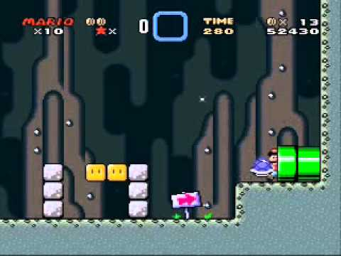 Super Mario World Walkthrough Part 2 Green Switch Palace Youtube