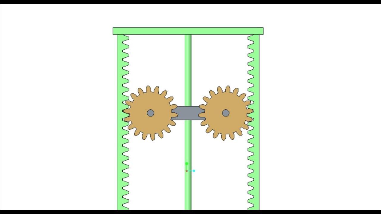 Ptc Creo Pro E Create Rack And Pinion Gears Animation