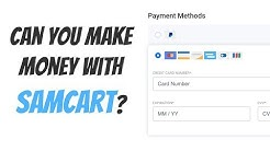 SamCart 1-Page Sales Page - Overview and Comparison with ClickFunnels & Shopify