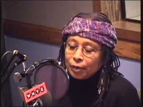 Alice Walker: War Is Not A Good Idea