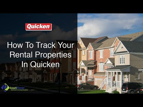 How To Track Your Rental Properties In Quicken
