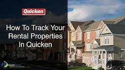How To Track Your Rental Properties In Quicken