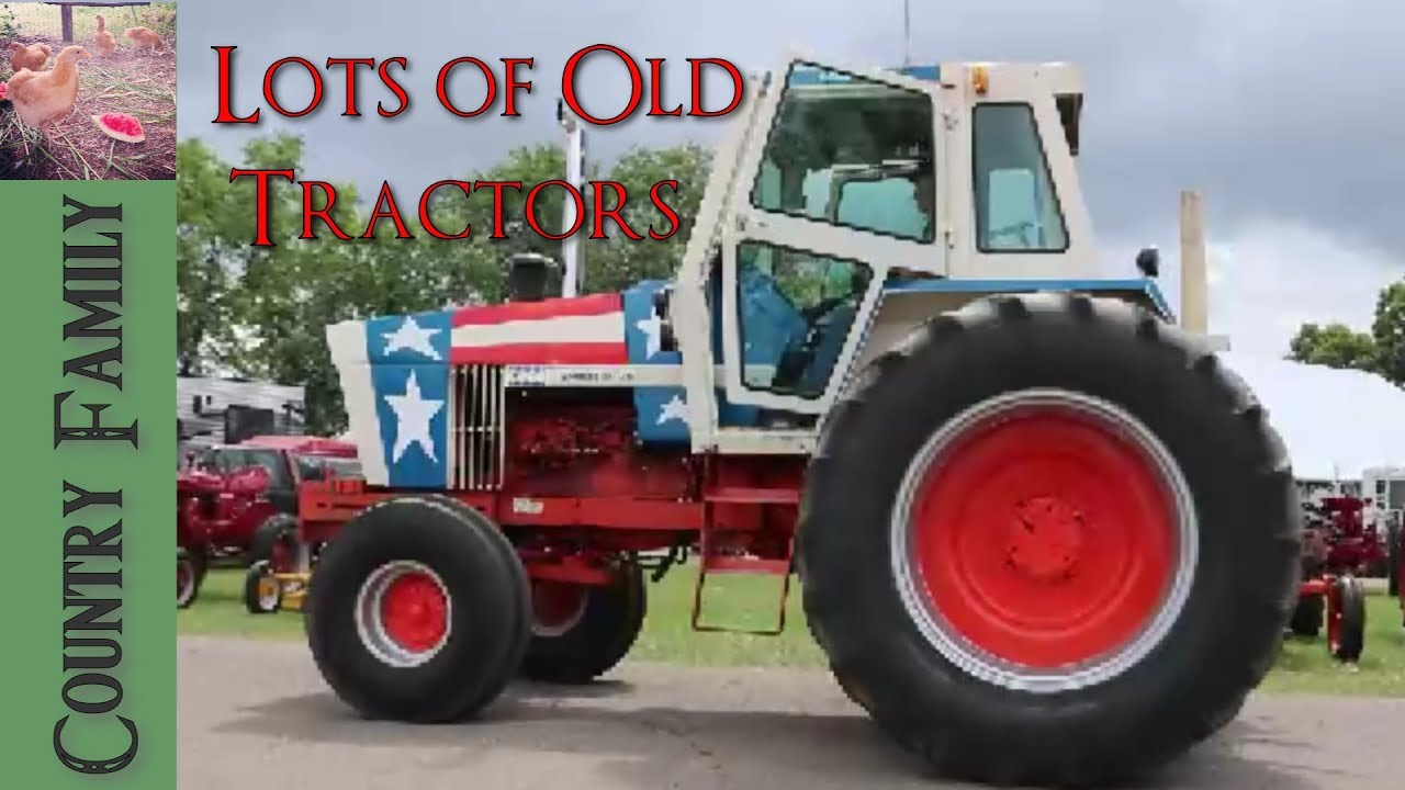 Antique Tractor Shows : Antique tractor show caro michigan youtube