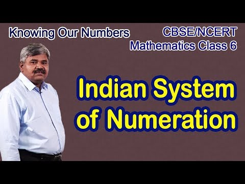 Indian system of Numeration - Knowing Our Numbers Part 2