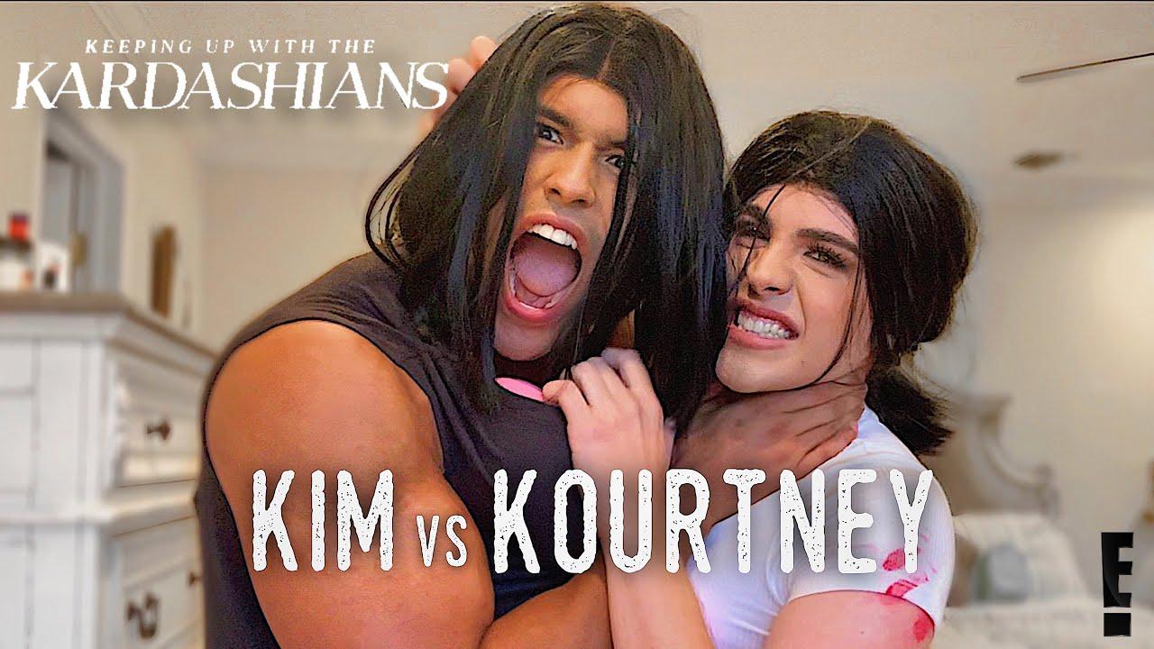 Kim & Kourtney Fight (PARODY)