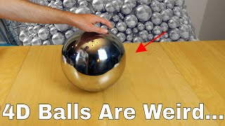 What Does a 4D Ball Look Like in Real Life? Amazing Experime...