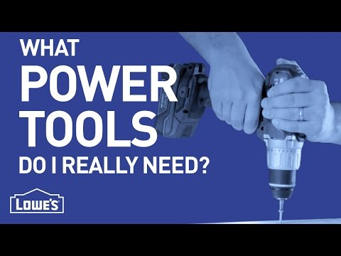 What Power Tools Do I Really Need? | DIY Basics