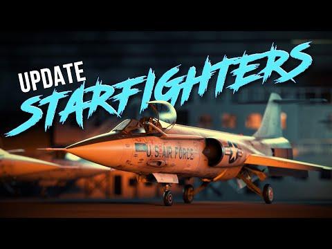 'STARFIGHTERS' UPDATE / WAR THUNDER
