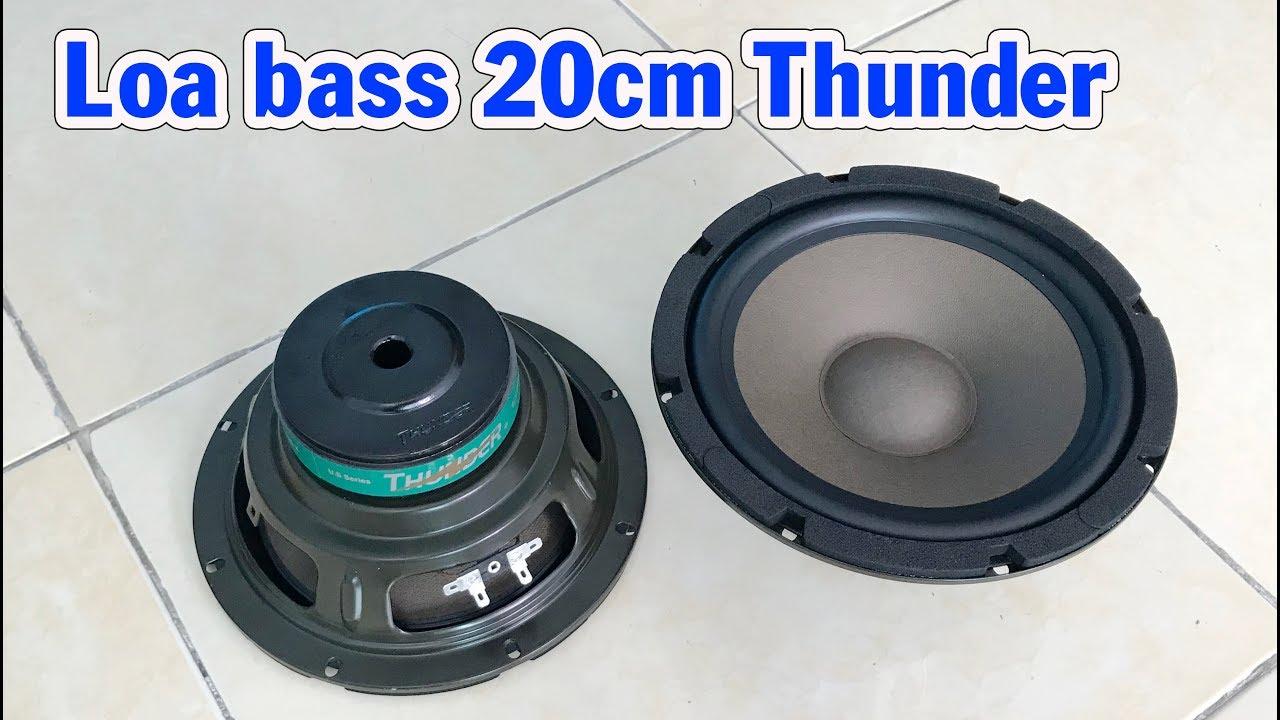 Loa siêu trầm 20cm Thunder