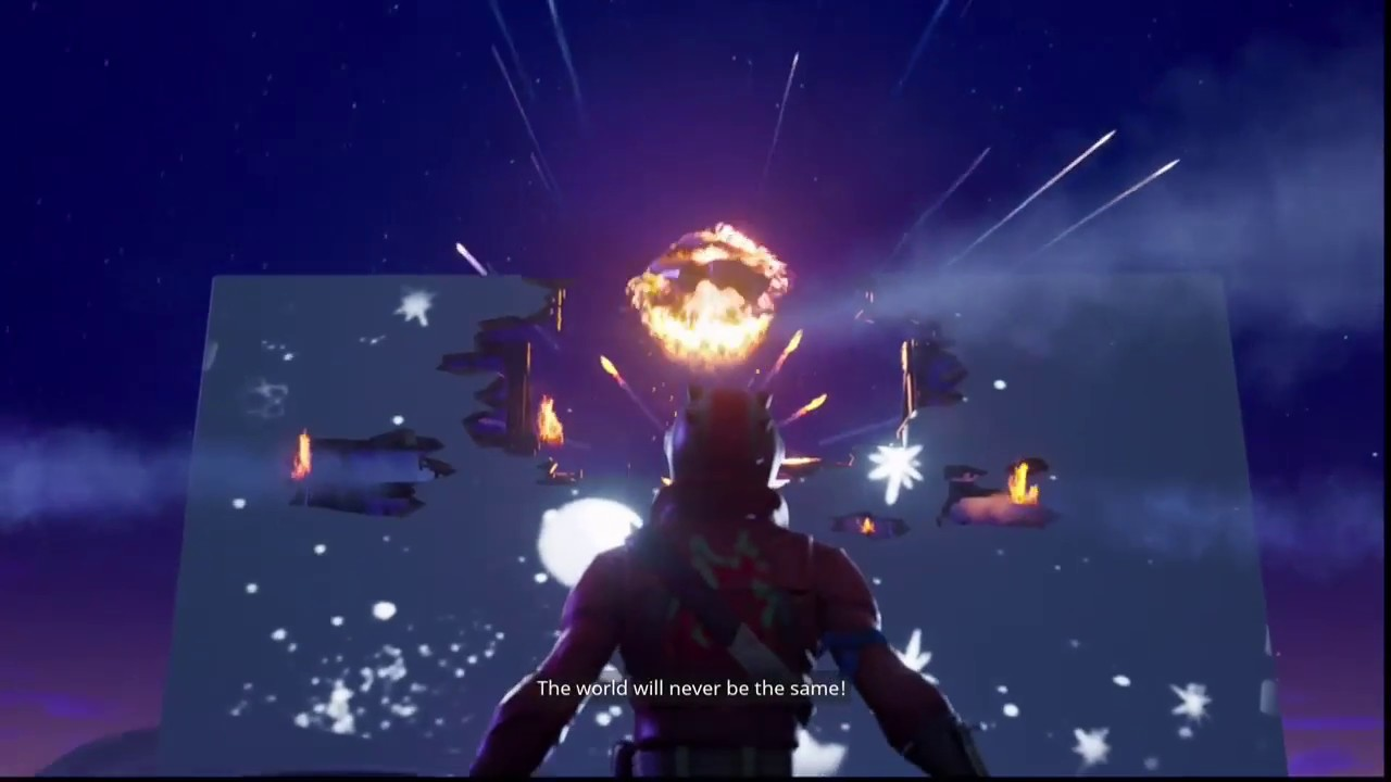 NEW SEASON 4 Fortnite GAMEPLAY!! FLYING ABILITY?! GIANT METEOR ATTACK GONE WRONG! MUST WATCH!