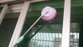 무선 전동 유리창 물걸레 청소기 회전 와이퍼 건식 습식…