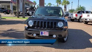 2017 Jeep PATRIOT Sport McAllen  Harlingen  Brownsville  San Juan  Edinburg