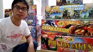 Toko Kembang Api Jakarta - Kembang Api Tahun Baru 200shot 1.8inch