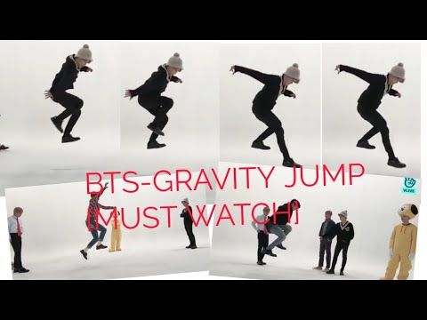 BTS PLAYING 'GRAVITY JUMP' [MUST WATCH]  HOW JIMIN ACES THE GRAVITY DEFYING JUMP