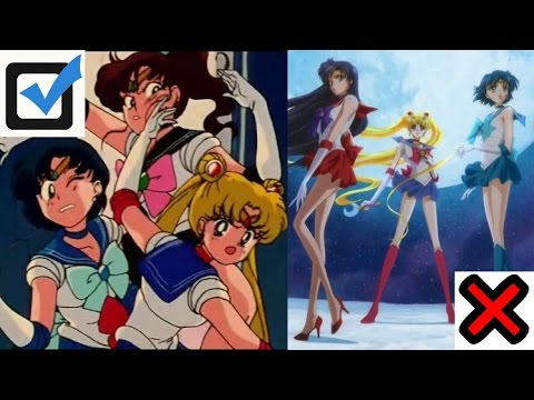 Why 90's Sailor Moon is better than SM Crystal
