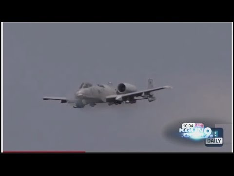 Why soldiers love the A-10's