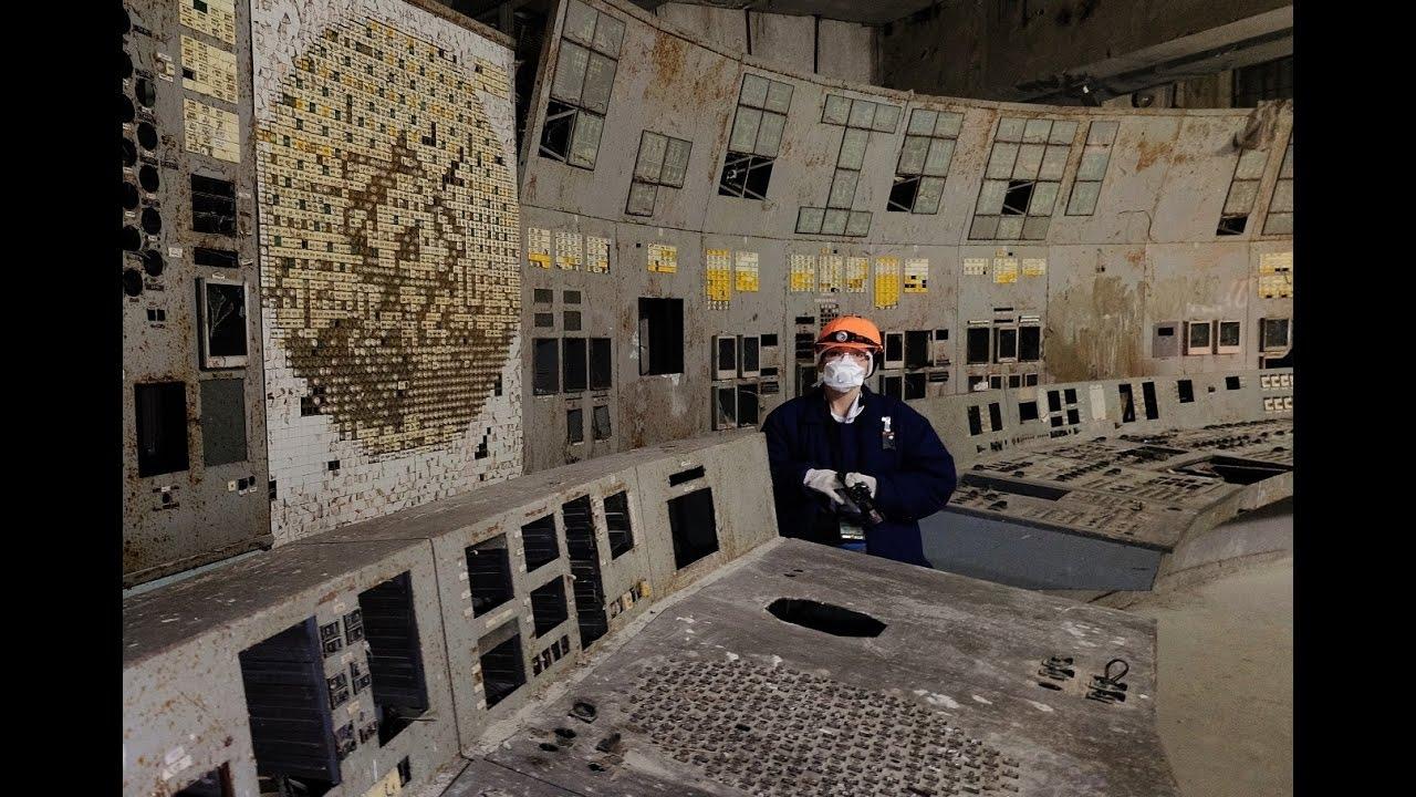 Resultado de imagem para inside Chernobyl ЧАЭС sarcophagus 2016