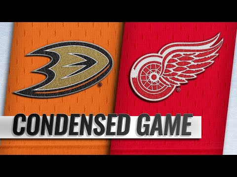 01/15/19 Condensed Game: Ducks @ Red Wings