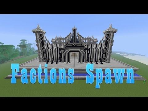 Minecraft Factions Spawn | Download in description!