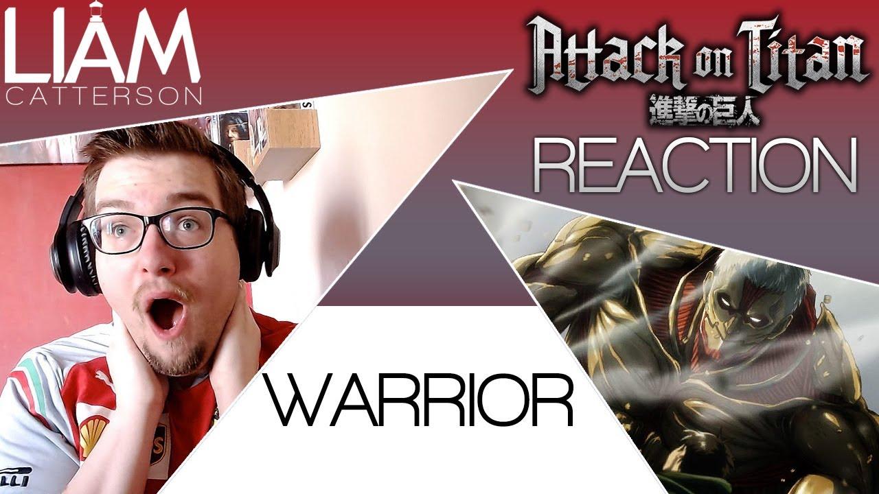 Attack on Titan 2x06: Warrior SUB Reaction - YouTube