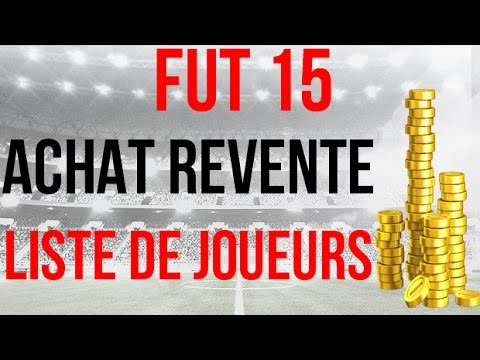 fut 15 achat revente liste de joueurs 2 4 b n fices faciles francais hd youtube. Black Bedroom Furniture Sets. Home Design Ideas