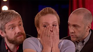 Derren Brown Shocks Martin Freeman And Amanda Abbington
