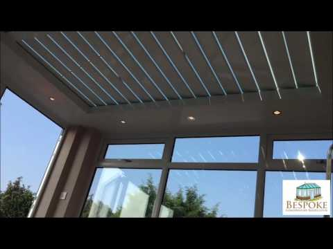 Automatic Blinds From BespokeConservatoryRoofs.co.uk