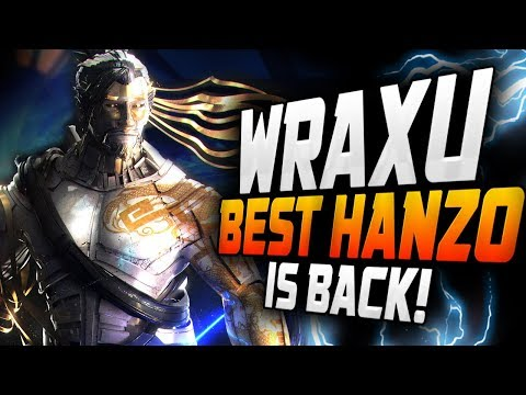 WRAXU IS BACK! #1 HANZO DOMINATING SEASON 12! + Kephrii [ OVERWATCH SEASON 12 TOP 500 ] thumbnail