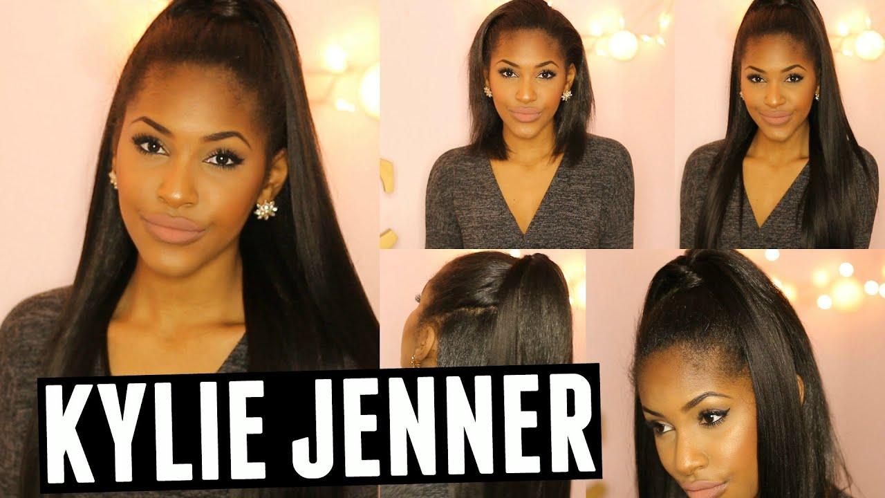 Kylie Jenner Hair Tutorial