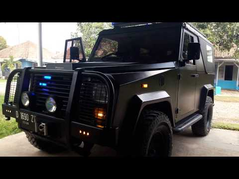 Land rover defender hornet 97 Limited Edition
