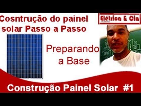 Como Montar um Painel solar