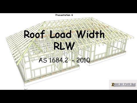 6 Roof Load Width Rlw Youtube