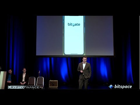 BitGate, Cryptocurrency Goes Mainstream, KYC/AML, Buy Bitcoin In Seconds - CryptoFinance 2018