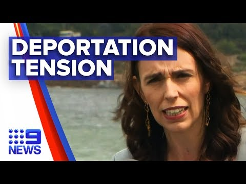 Jacinda Ardern Launches Deportation Attack On Scott Morrison   Nine News Australia
