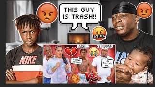 """""""THE PRINCE FAMILY""""DAD AND DARION REACTS TO 1V1"""" EXPOSING DAMIENS STEP DAD(THE 3 CRYER'S REACTS)"""