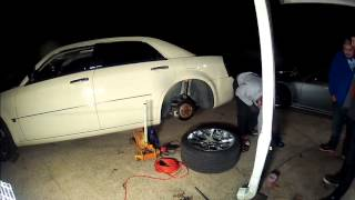 300C Rear Fender Rolling - Fast Forward - 5 Min