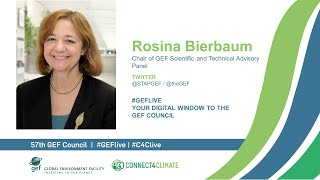Rosina Bierbaum at GEF Live - Your digital window to the 57th Council