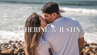 Surfing Couple Goals!   Wedding of Catherine and Justin   Laguna Beach California