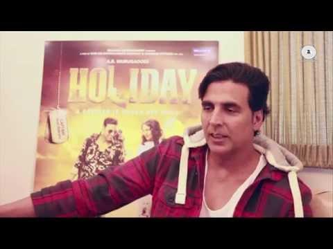 Making of 'Shaayraana' Song | HOLIDAY | Akshay Kumar, Sonakshi Sinha