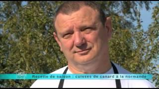 17/10/2014 Recette de saison : cuisses de canard à la normande
